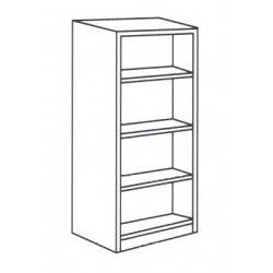 High Open Shelf Cabinet