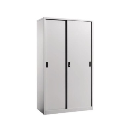 Steel Full Height Sliding Door Cupboard