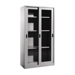 Full Height Steel Sliding Glass Door Cupboard