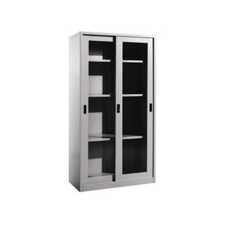 Steel Full Height Sliding Glass Door Cupboard
