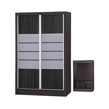 4ft 2 Sliding Doors Wardrobe