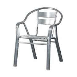 Double Pipe Aluminium Chair