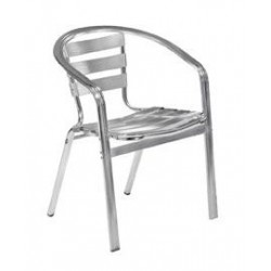 Square Pipe Aluminium Chair
