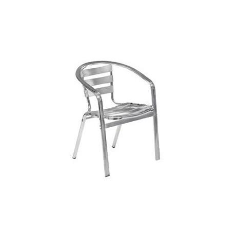 Square Pipe Aluminium Chair