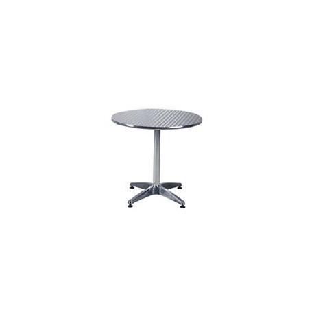 """27.5"""" Round Aluminium Table"""