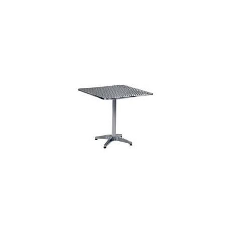 """27.5"""" Square Aluminium Table"""