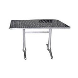 Retangular Aluminium Table