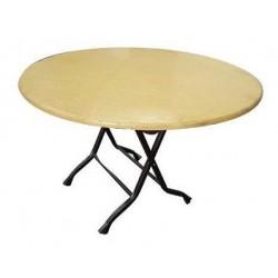 4' Round Hardboard Table