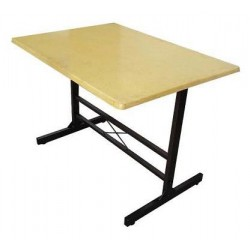 2.5' x 4' Hardboard Table