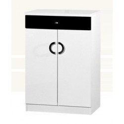 2 Doors Shoe Cabinet With Drawer