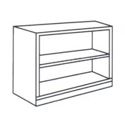 Low Open Shelf Cabinet