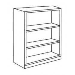 Medium High Open Shelf Cabinet