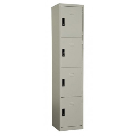 4 Compartment Lockers