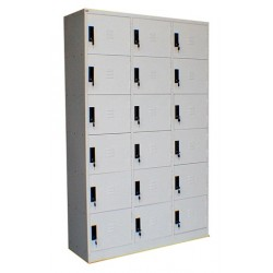 18 Compartment Lockers