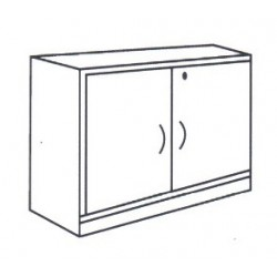 Low Swing Door Cabinet