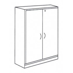 Medium High Swing Door Cabinet
