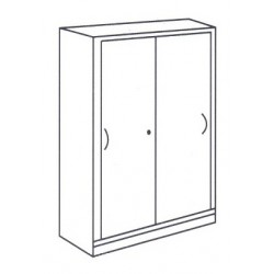 Medium High Sliding Door cabinet